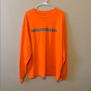 New Billie Eilish long sleeve